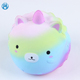 Hot selling joyful slow rising squishies jumbo animal stress reliever toys squishy unicorn