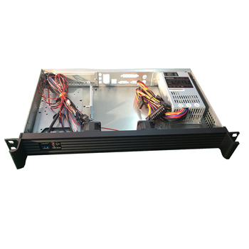 19 Inch 1u Short Server Rack Mount Router/ X-router/ Firewall/industrial  Itx Chassis - Buy Itx Chassis,Server Itx Chassis,1u Server Itx Chassis