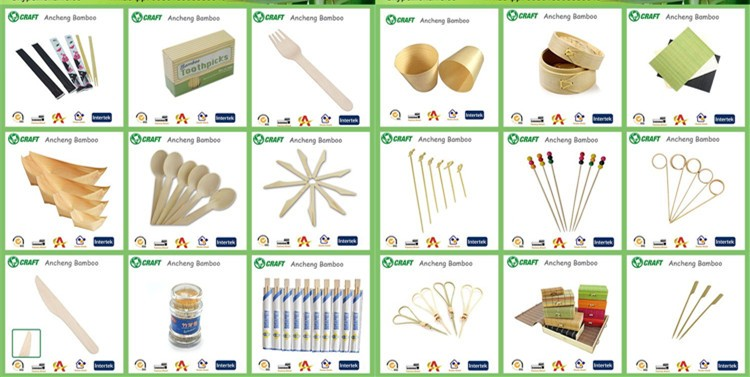 Decorative Disposable Bamboo Snack Picks /Bento Picks