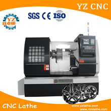 WRC28 Turning Wheel Surface Rim Repair CNC Lathe Machine