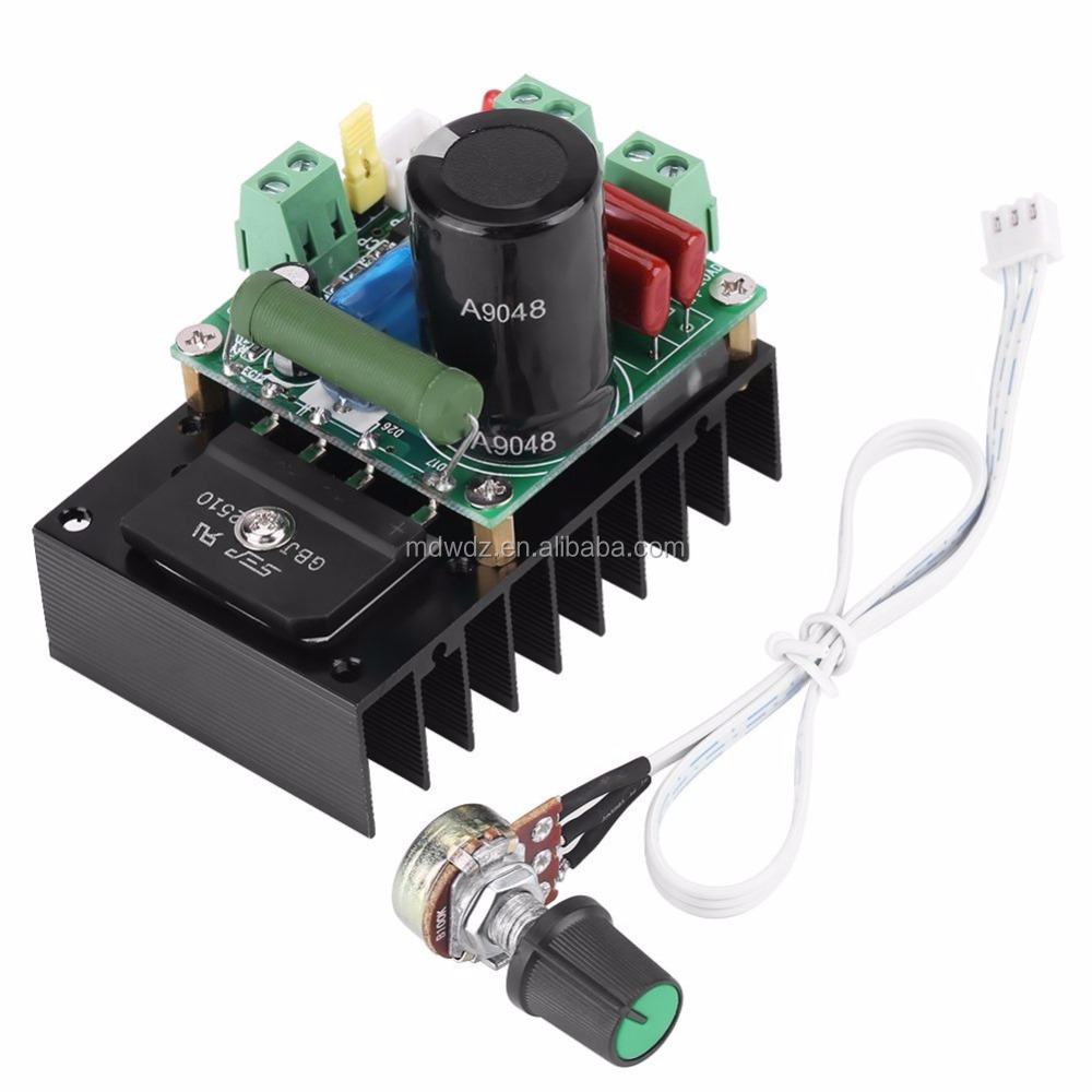 DC 300W PWM Motor Speed Controller Regulator Board Motor Driver Governor Module for Fan Pump Blower Engraver