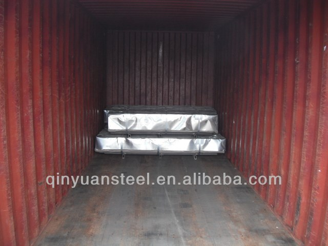 cheap galvanized sheet steel corrugated from shangdong