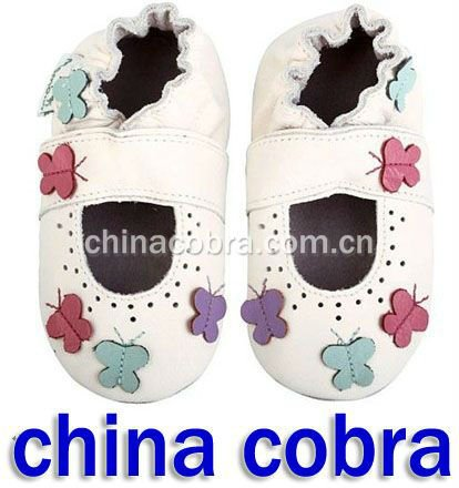 free shipping fashion high quality soft sole genuine leather baby shoes kids shoes