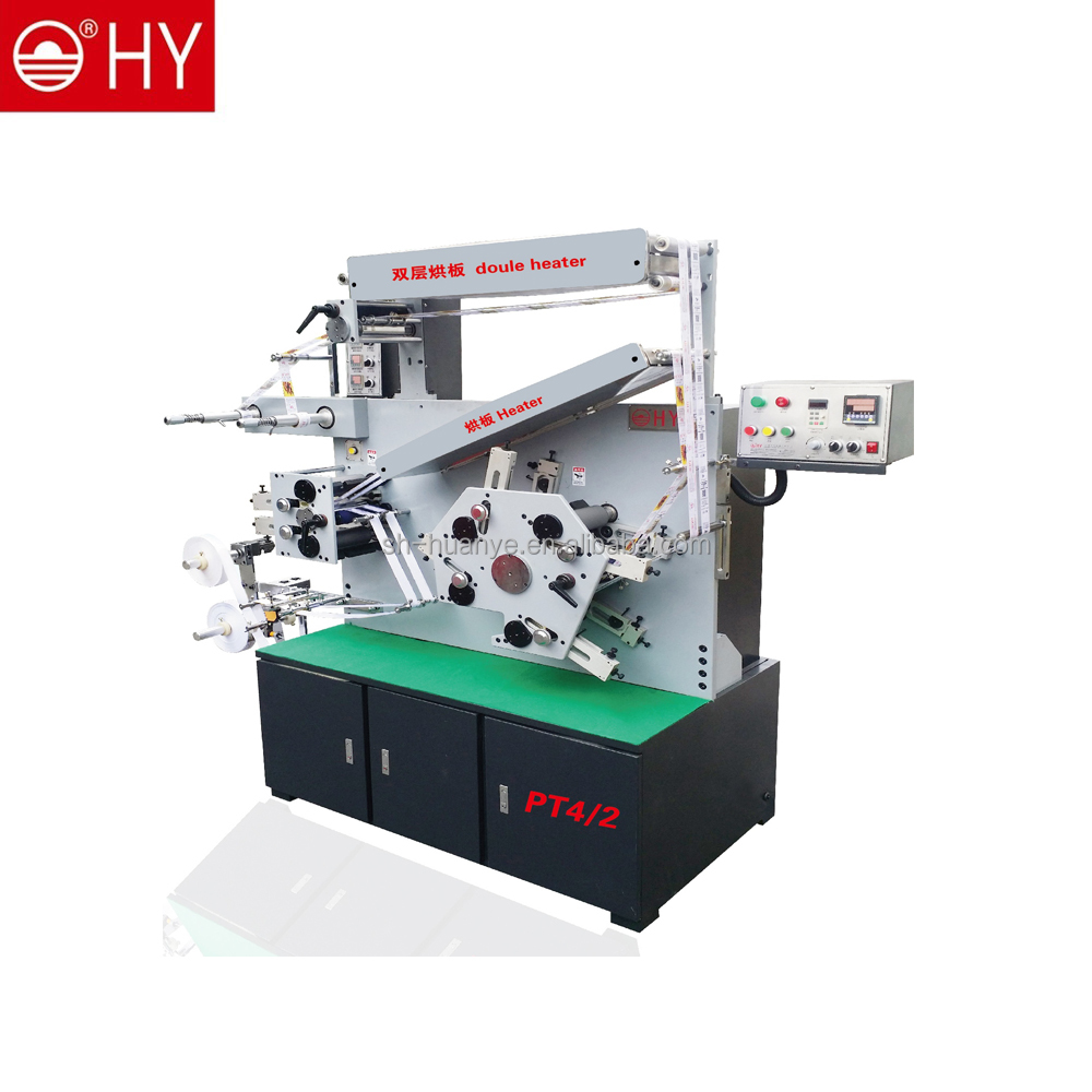 FACTORY DIRECT double tapes double side care label Flexographic Printing Machine