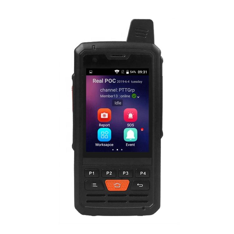 Jimi 4G GPS IP radio 4G LTE mobile android phone radio POC walkie talkie  wifi dmr walkie talkie