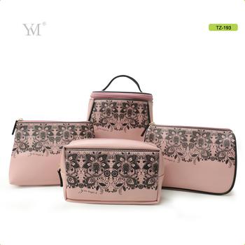 Elegant Design Women S Makeup Bag Set Branded Las Vanity Bags