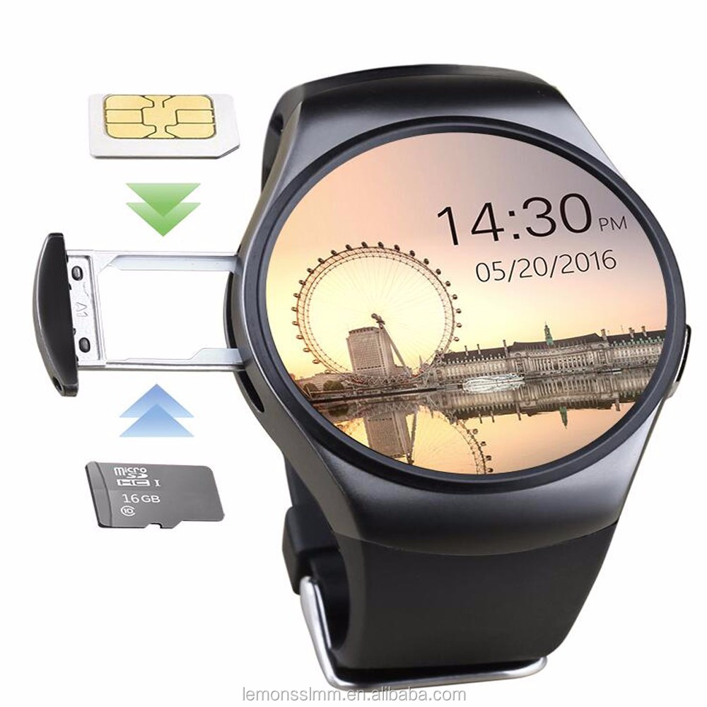 KW18 latest colorful android smart watch bluetooth smar