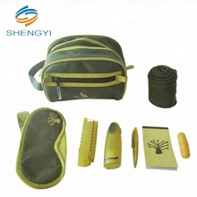 Sanitary personal care travel kit with amenities kit for men
