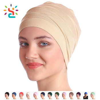 Unisex Cotton Sleep Caps for Cancer Hair Loss Sleep Cap for Chemo Wholesale  plain colorful spandex f27b2521eb2