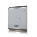 Chitco Universal Intelligent controller Smart home Automation VIA IOS android UK standard 3 gang wifi light