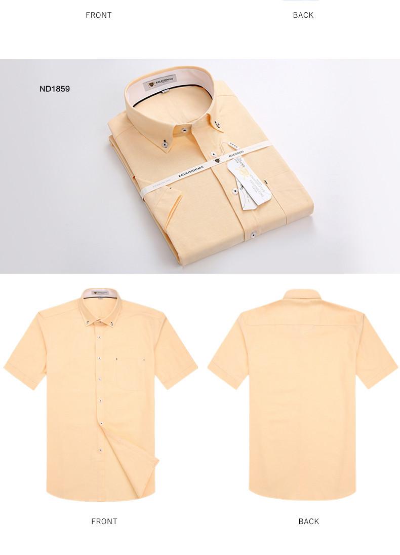 6ad6033591e7 2019 Wholesale Summer 2016 Mens Short Sleeve Oxford Shirts 100 ...