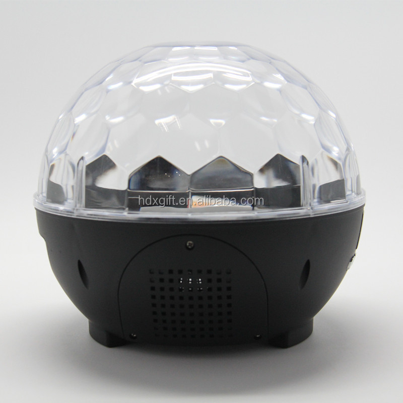 Bluetooth Plasma Light Speaker with Magic Plasma light-show disco light