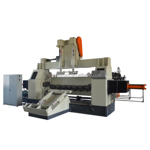 2600mm automatic spindle peeling machine with hydraulic chuck clamps