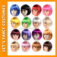PGWG0811 Factory direct women hair wig cheap short bob wig party men wig china wholesale