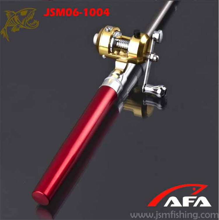 Jsm best seller wholesale pen mini power fishing rod for Cheap fishing rods and reels combo