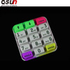 android oem silicone keyboard for all in one touch screen pos