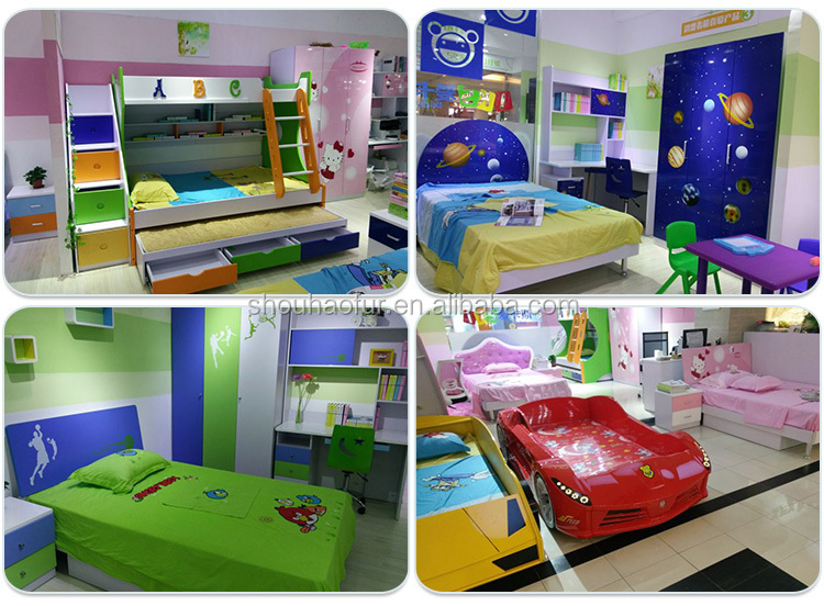Iks Kids Children Bedroom Furniture Set With Study Desk And Chair