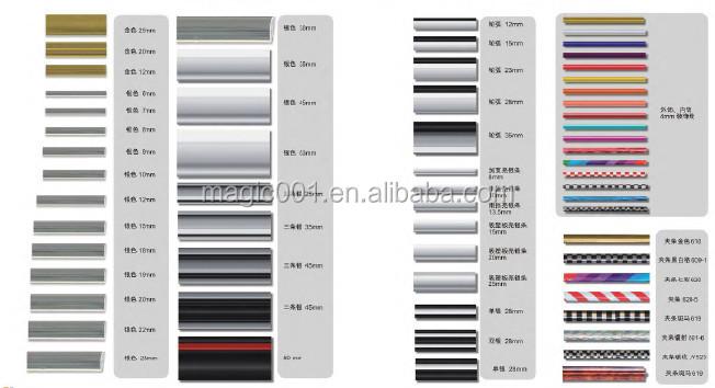 popular standard size 12mm 5m chrome car moulding trim tape car protector strip chrome moulding. Black Bedroom Furniture Sets. Home Design Ideas