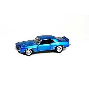 Castline M2 Model Kit 1:64 Die-Cast 1969 Chevrolet Camaro Blue