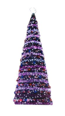 2012 outdoor big christmas tree with lights/decorations