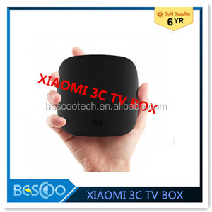 Newest PatchWall XIAOMI Smart Box TV BOX 3 3C Andriod 5.0 Quad Core 4K S905 64Bit BT4.1Dual-band WiFi