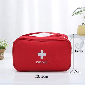 First Aid Bag Empty Portable Emergency Medical Bag Survival Storage Bag for Camping  Home  Travel