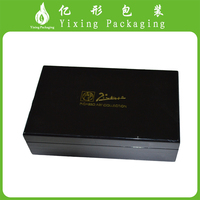 New 2017 High Gloss Lacquered Gift Packaging Wooden Date Chocolate Box