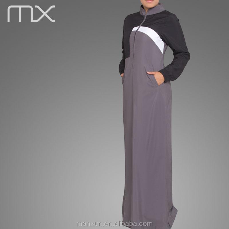 Islamic Women Sport Wear Long Arab Abaya New Style Designer Burka ...