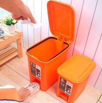 30l New Design Plastic Foot Pedal Waste Bin - Buy Plastic Waste Bins,Foot  Pedal Garbage Bin,Plastic Hopper Bins Product on Alibaba com