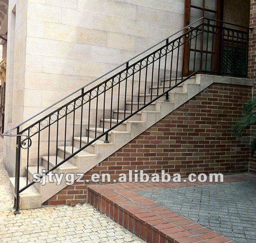 Ultimo moderno ringhiera scala esterna di ferro battuto scale id prodotto 672455679 italian - Ringhiera scala esterna ...
