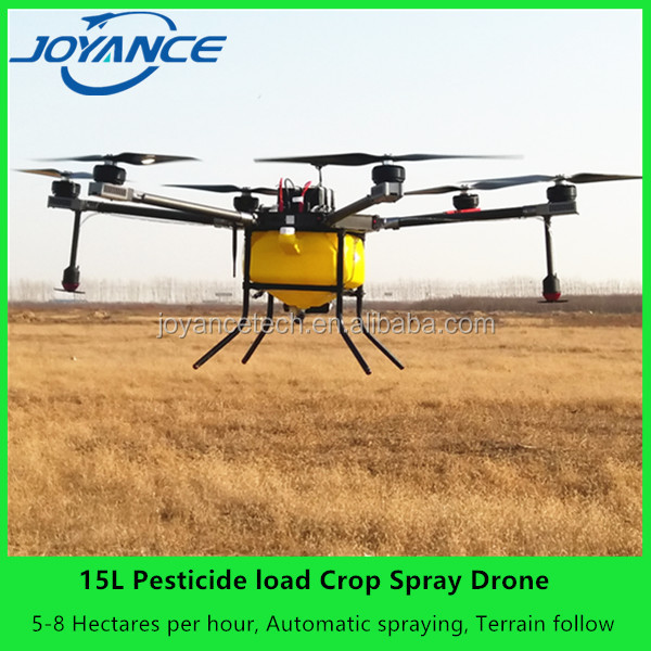 2017 joyance 15-606 pesticide spraying uav / agricultural spraying uav