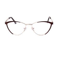 LAO YE HUI, Модные металлические очки с полуоправой, оправа для женщин и мужчин, очки с прозрачными линзами, Ретро стиль, Классическая оправа для ...(Китай)
