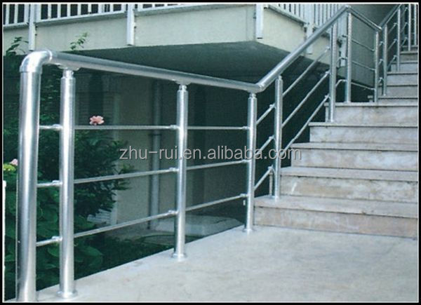 Indoor Aluminium Stainless Steel Stair Railings Outdoor