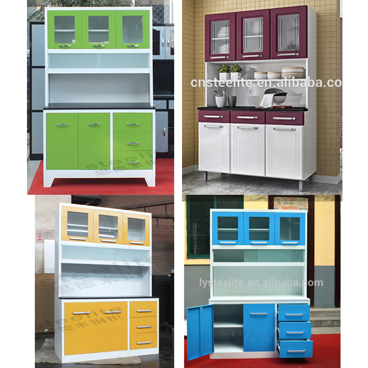 Modular Kitchen Cabinet Color Combinations Steel Cabinet Kitchen