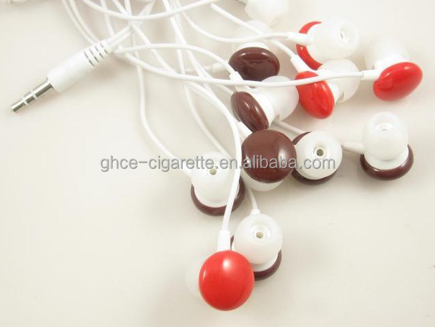 Colorful chocolate earphone for promotion free <strong>samples</strong> offered