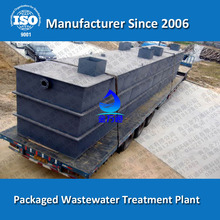 Compact Municipal Sewage Treatment System