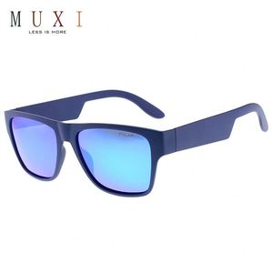 New fashion steampunk mirror lens and square frame with wide temples men fashionable sunglasses