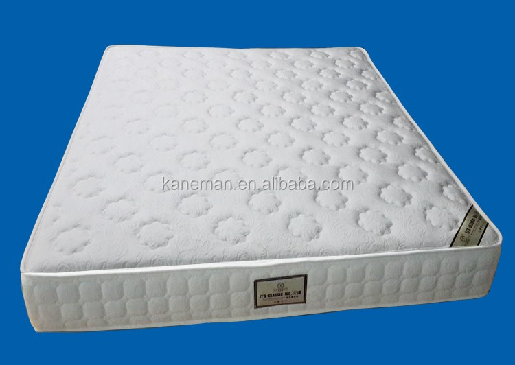 5 Star Hotel Pocket Spring Latex Foam Mattress 11 Inch Used On Both Sides