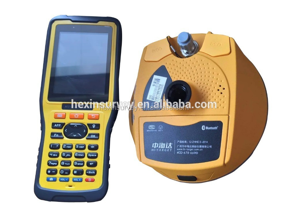 High precision handheld gps survey Hi-target V90 plus gps prices