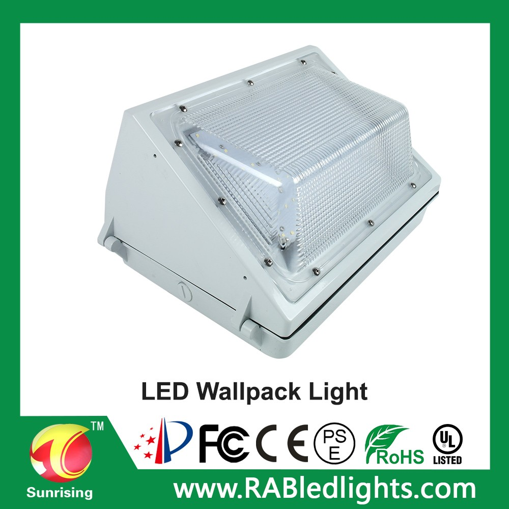 Etl Listed 60 Watts Led Wall Pack Outdoor Lighting,Aluminium Fetll ...