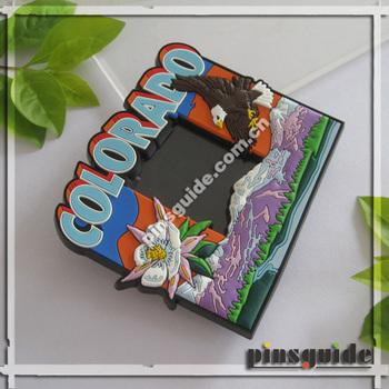 Wholesales Custom Design Soft Pvc 2d Fridge Magnet Photo Frame For ...