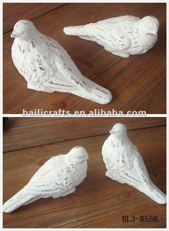 Made In China Superior Quality Decorative Garden Decor Metal Cast Iron Birds Bird