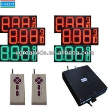 outdoor digital signs IP65 waterproof electronic led gas price board