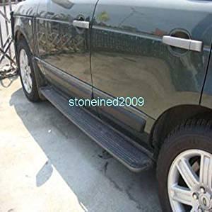 Wotefusi Car New Doors Side Doors Running Step Board Bar Set For Range Rover 2010-2011 HSE Sport Utility 4-Door