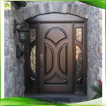 Simple Teak Wood Lobby Entrance Main Wood Door Designs In Chennai View Simple Teak Wood Door Designs Apex Product Details From Guangzhou Apex