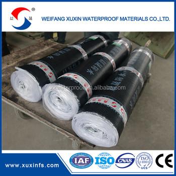 China Self Adhesive Roll Roofing Waterproofing Bituminous Felt