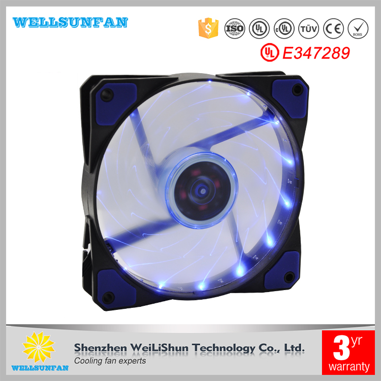 5v 12v 24v quiet computer fan 120mm ventilator fan 12025 dc cooling fan