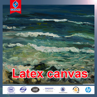 High Quality 280GSM Smooth Printing Poylester Latex Canvas