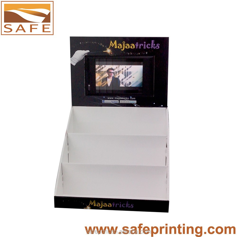 Custom Recyclable POS LCD Display With Nice Printing