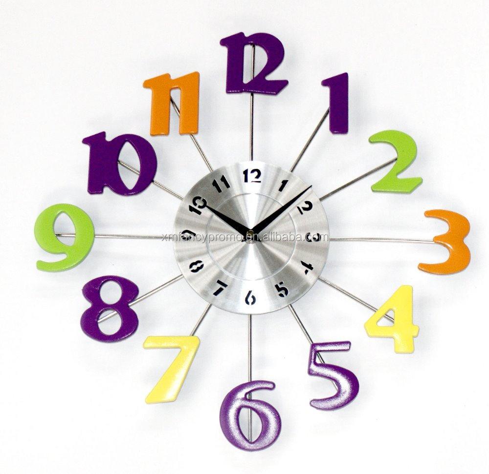 China Wall Clock Colour Wholesale Alibaba